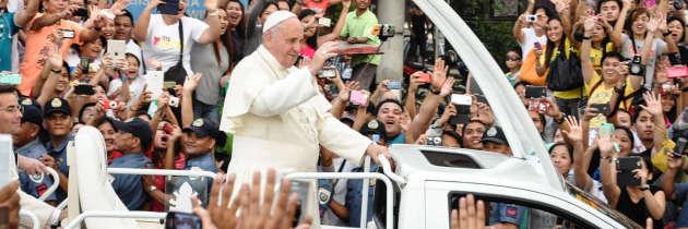 """Papa Francesco nelle Filippine: """"Impariamo a piangere…"""""""